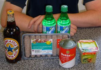 Ingredients used in Italo-Irish Shandy Floater Stew