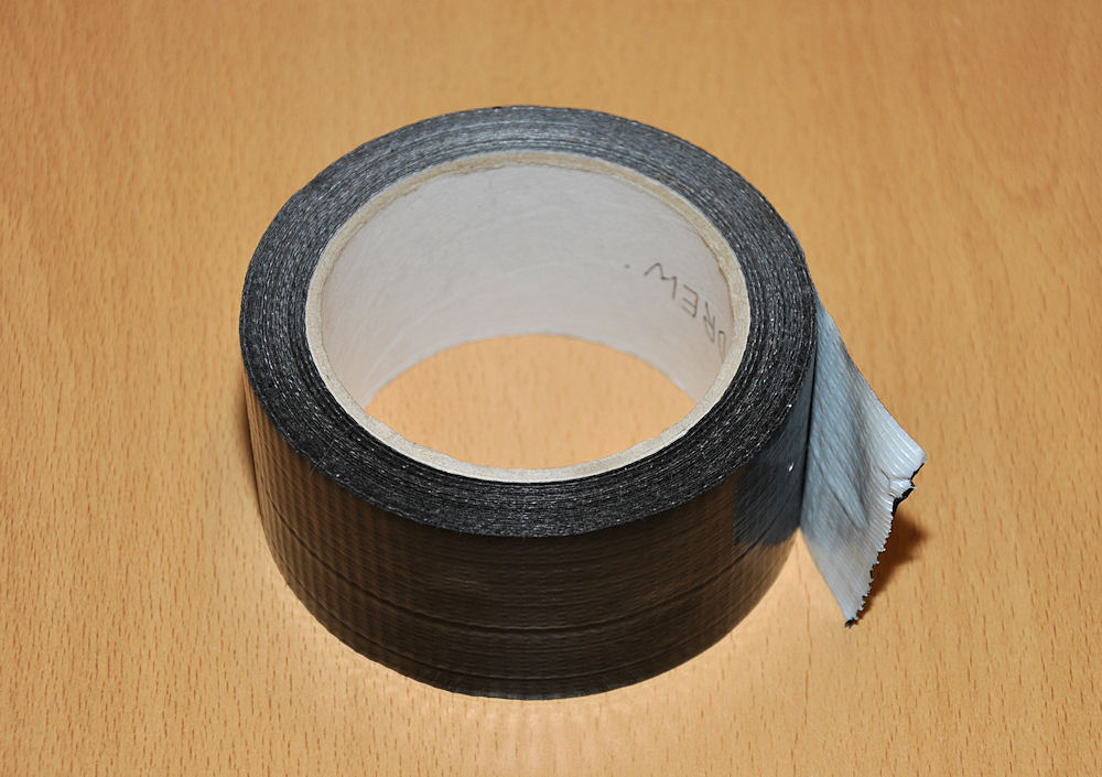 Use gaffer tape for all sorts of things in the kitchen